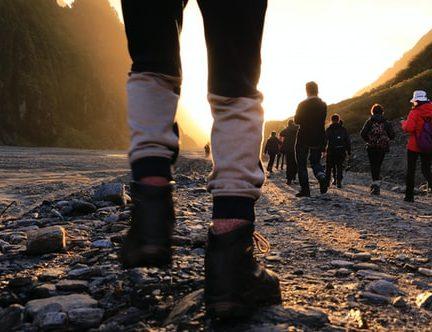 Maleta schoenen op reis